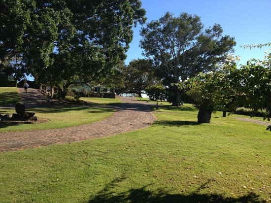 Spicers Hidden Vale: Entrance and grounds