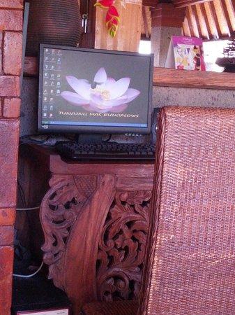 Tunjung Mas Resort Ubud: Free internet in rooms and lobby