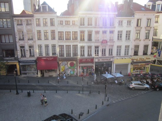 Novotel Brussels Grand Place: view