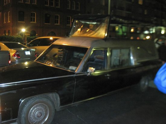 Hearse ghost tour coupon