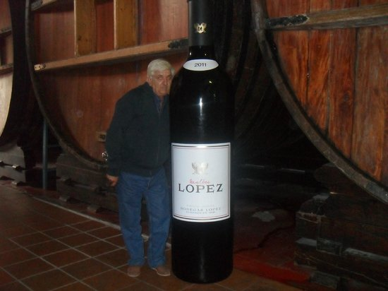 Bodegas Lopez: Con una botellita de estas me doy por satisfecho