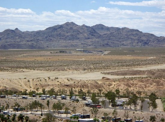 Don Laughlin's Riverside Resort: view from our room 2575