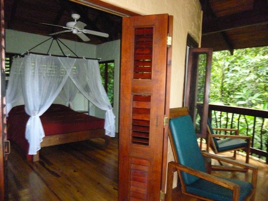 Playa Nicuesa Rainforest Lodge: Our deck and room