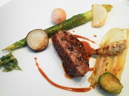 エディション・コウジ・シモムラ, フォアグラ鴨肉のグリル