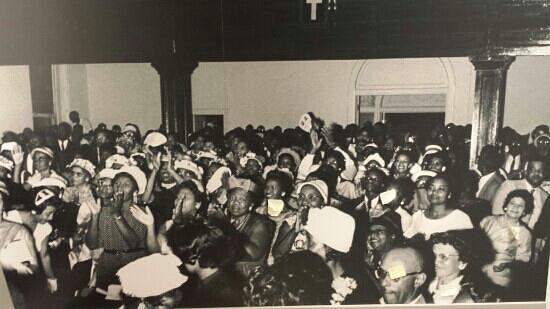 Montgomery, ألاباما: mass meeting