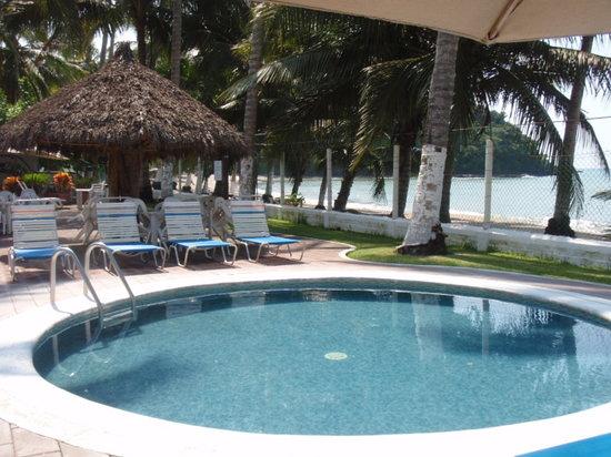 Lo de Marcos, เม็กซิโก: Front beach terrace