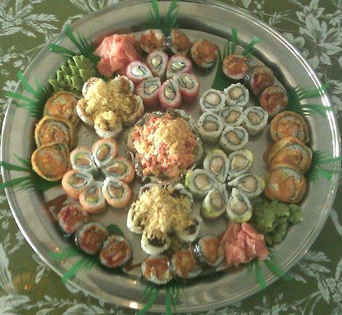 Sakura's Sushi Platter