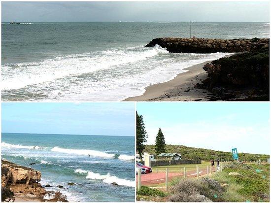 Burns Beach: The beach