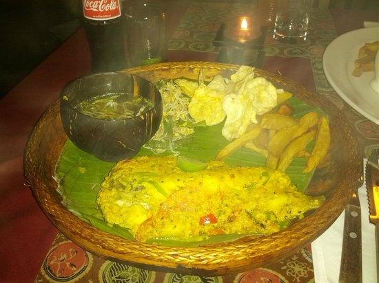 "Pundi-Pundi Grill & Asian Cuisine: Balinese ""underseasoned"" fish"