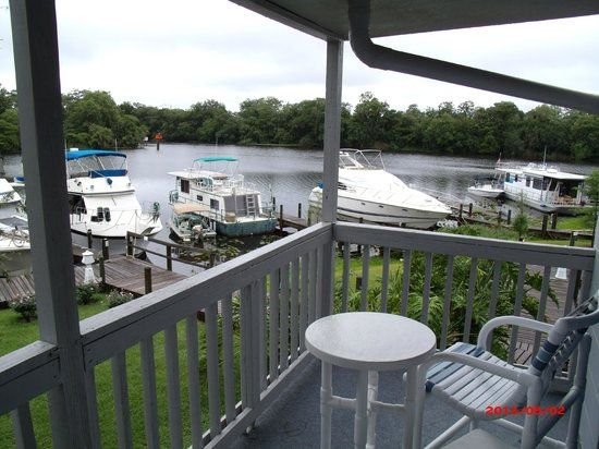 Hontoon Landing Resort & Marina: View from our Balcony