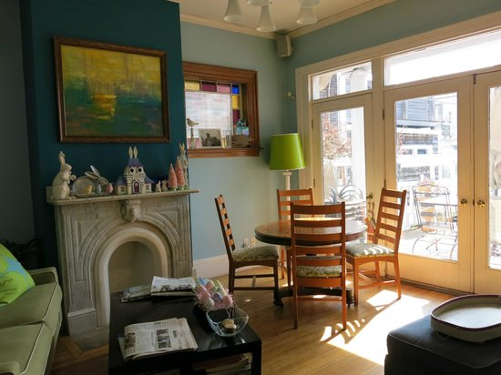 Somerset House Inn: La salle petit déjeuner