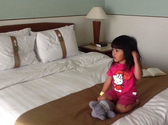 Holiday Inn Bandung: Little A in the hotel room