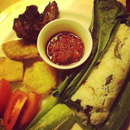 Holiday Inn Bandung: Nasi bakar