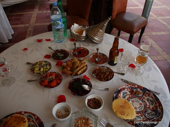 Riad Kniza: Meal we cooked
