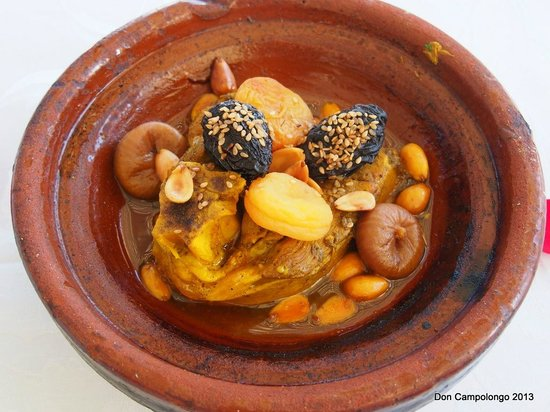 Riad Kniza: One of our meals