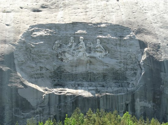 Stone Mountain: Carvings