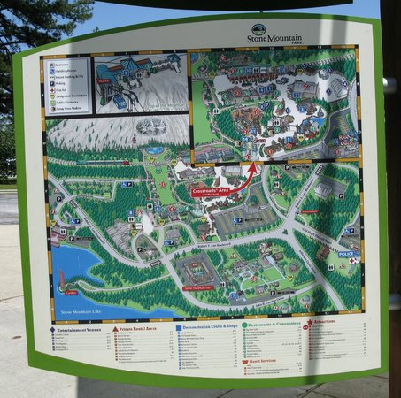 Stone Mountain: All the commercial sites