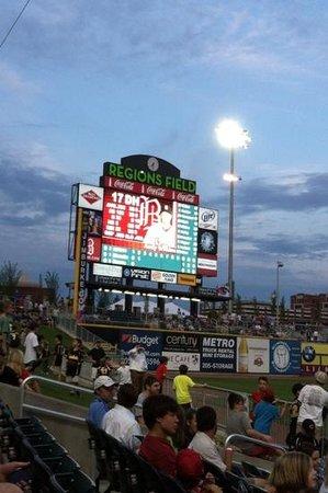 Regions Field: Scoreboard