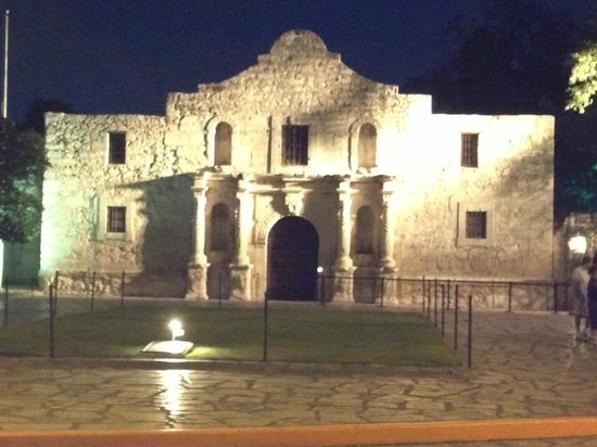 The Emily Morgan Hotel - a DoubleTree by Hilton: Actual evening pic of Alamo
