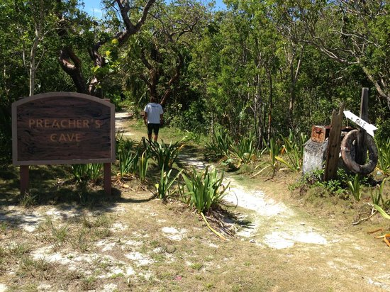 ‪‪Bahamas Out Island Adventures - Day Trips‬: Preacher's Cave‬
