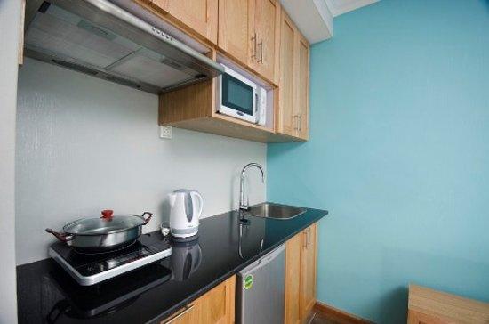Residence Ticoco : Kitchen