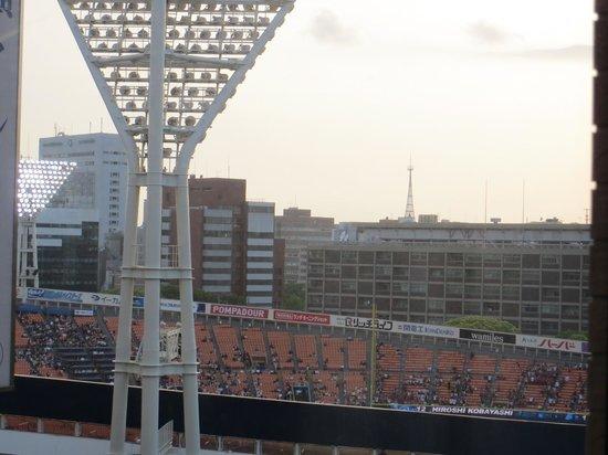 ไดวะ รอยเน็ต โฮเต็ล โยโกฮาม่า โคเอน: room view(yokohama stadium)