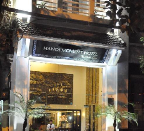 Hanoi Moment Hotel 2: Moment Facade