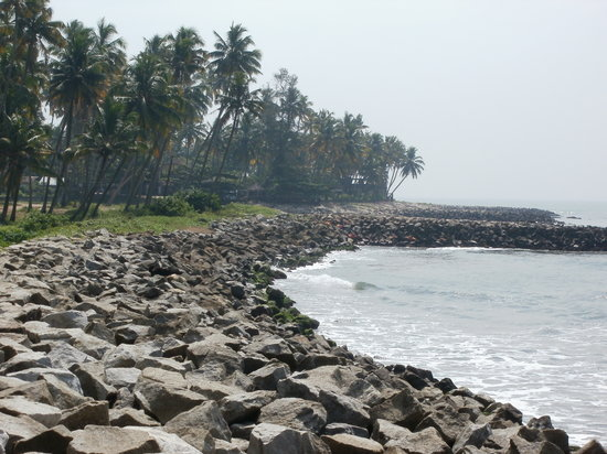 Kollam, Inde : beach view