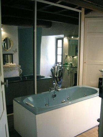 Chambre d'Hote Le Theron: bathroom