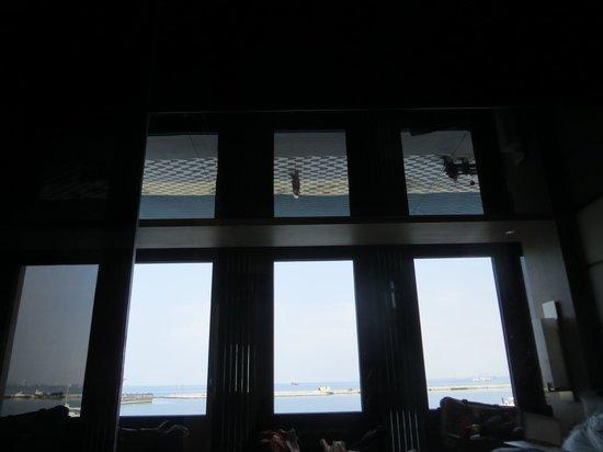 Key Hotel: Blick von der Toilettenbrille