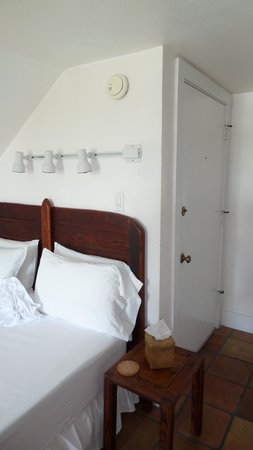 Key West Bed and Breakfast: Blick auf das Bett