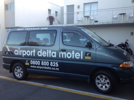 Airport Delta Motel: Shuttle to and from Airport