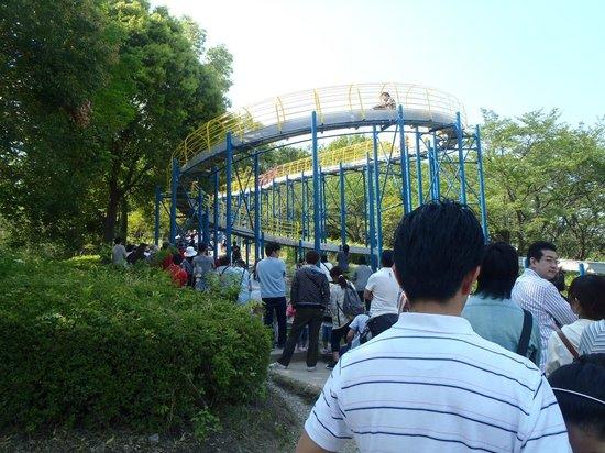 Kodomo-no-Kuni : ながーい滑り台の降り口。