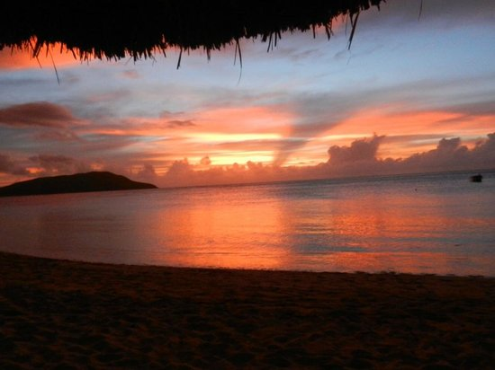 Nacula Island, Fidschi: SUNSET