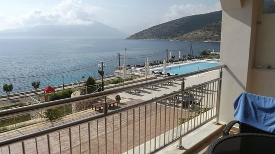 Odyssey Hotel Kefalonia: magnificent room and view