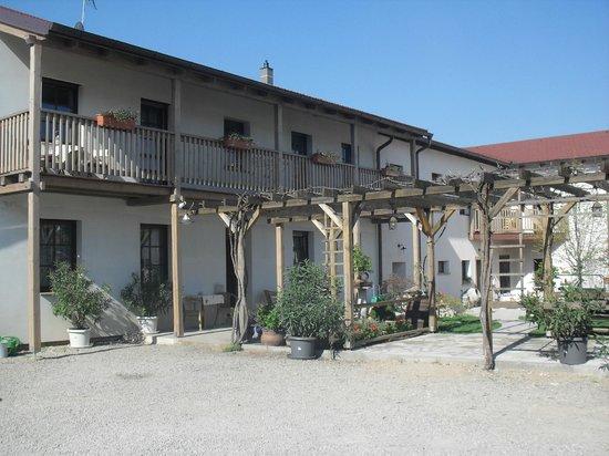 Hotel Bonsai Mikulov: The courtyard