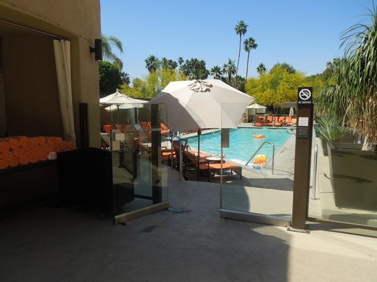 Hyatt Palm Springs: Hotelpool