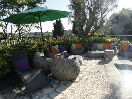Manoir de l'Etang : terrasse
