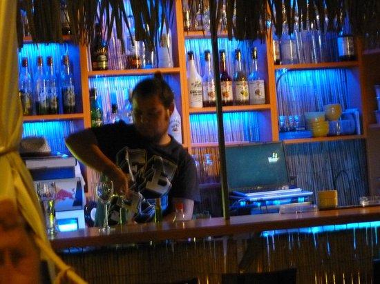 Ceren Hotel: Biker bar along from the hotel