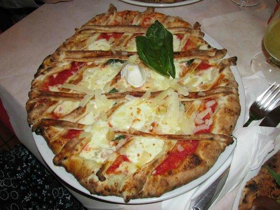 Pizzeria Pub Lady Pizza: Crostata margherita