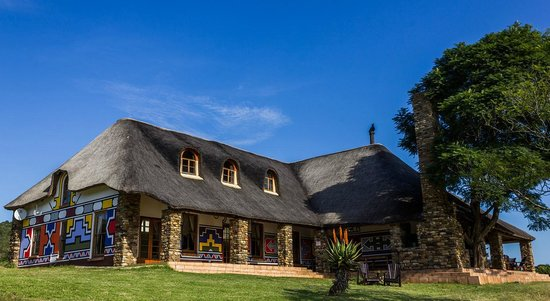Addo Bush Palace Private Reserve: Main Lodge Front