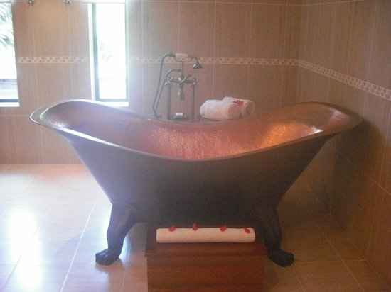 DoubleTree by Hilton Seychelles Allamanda Resort & Spa : bathroom !