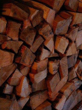 Swan Inn: plenty of wood