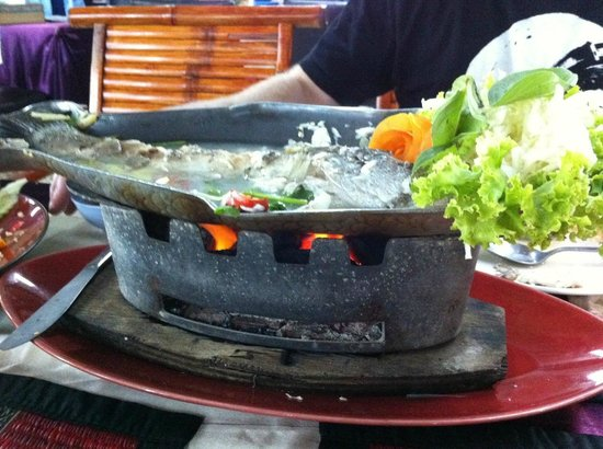 Lek: Steamed fish - The best