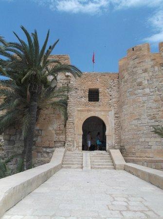 Entrance to Borj El Kebir
