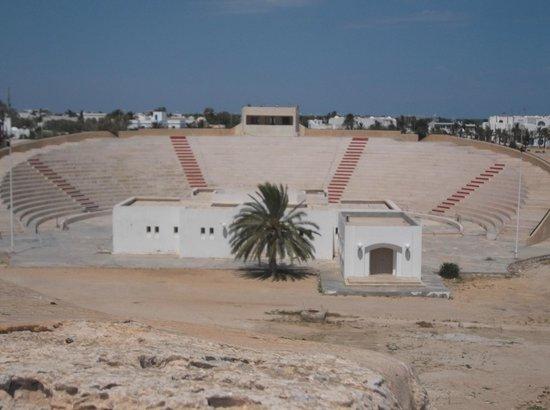 Borj El Kebir: View to the left