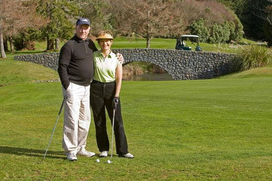 Moselle Bed & Breakfast: Members at Wairakei International golf Course