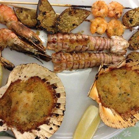 Ristorante Rimini Key: Микс из морепродуктов