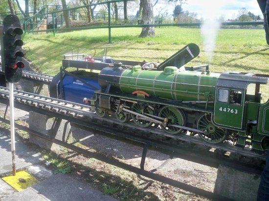 Abbotsfield Park Miniature Railway: Locomotive