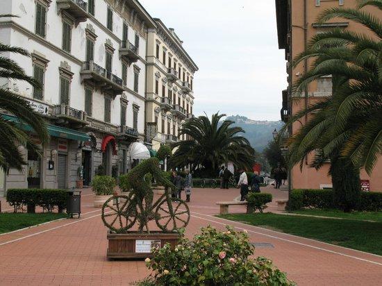 Hotel Boston: Zentrum der Stadt- Montecatini
